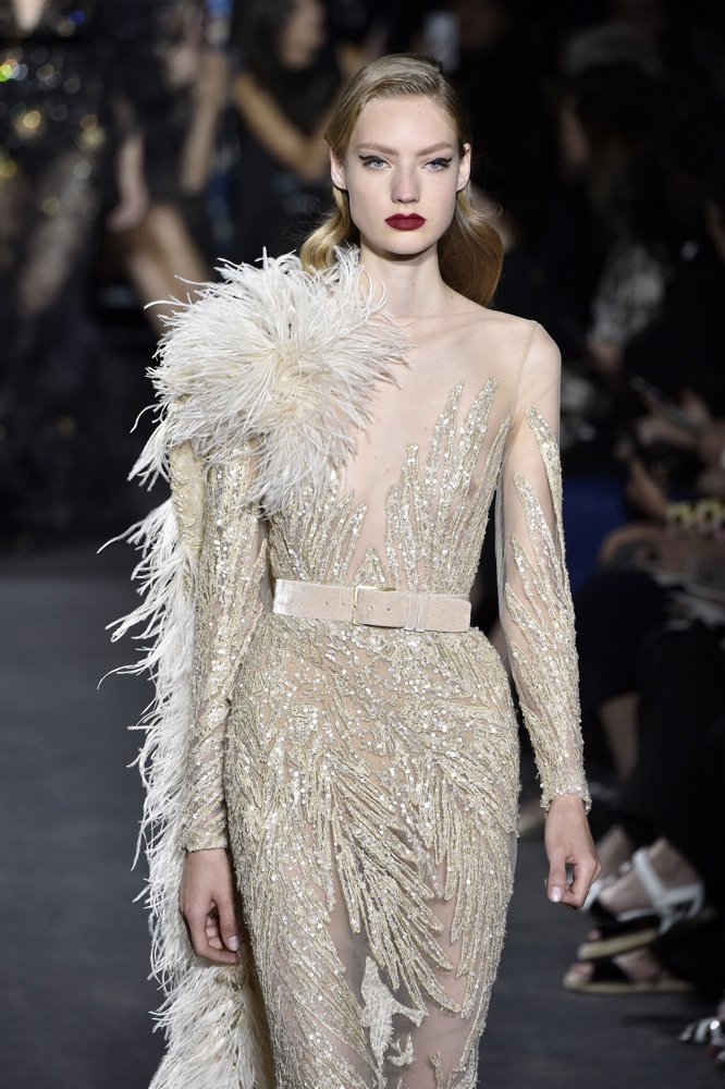 Eyecandytime we present to you elie saab 39 s haute for Haute couture designers names