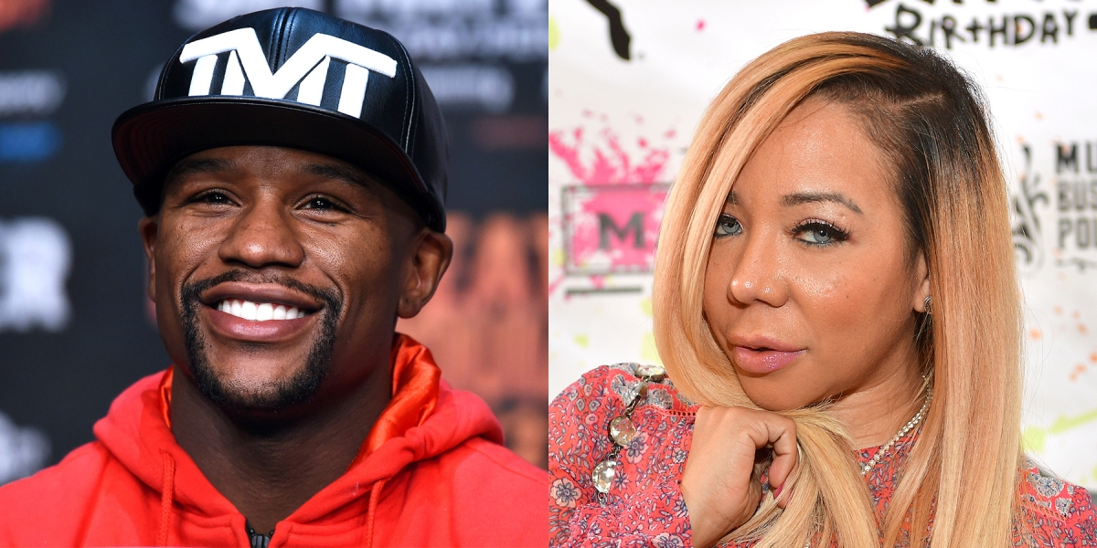 ti cheats isnt worth 800 mill is tinys defense for dancing with floyd mayweather - Tiny Pictures