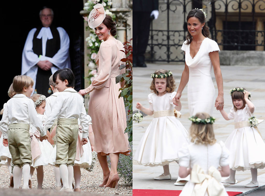 Socute Kate Middleton Is A Doting Big Sister At Pippa Middleton S