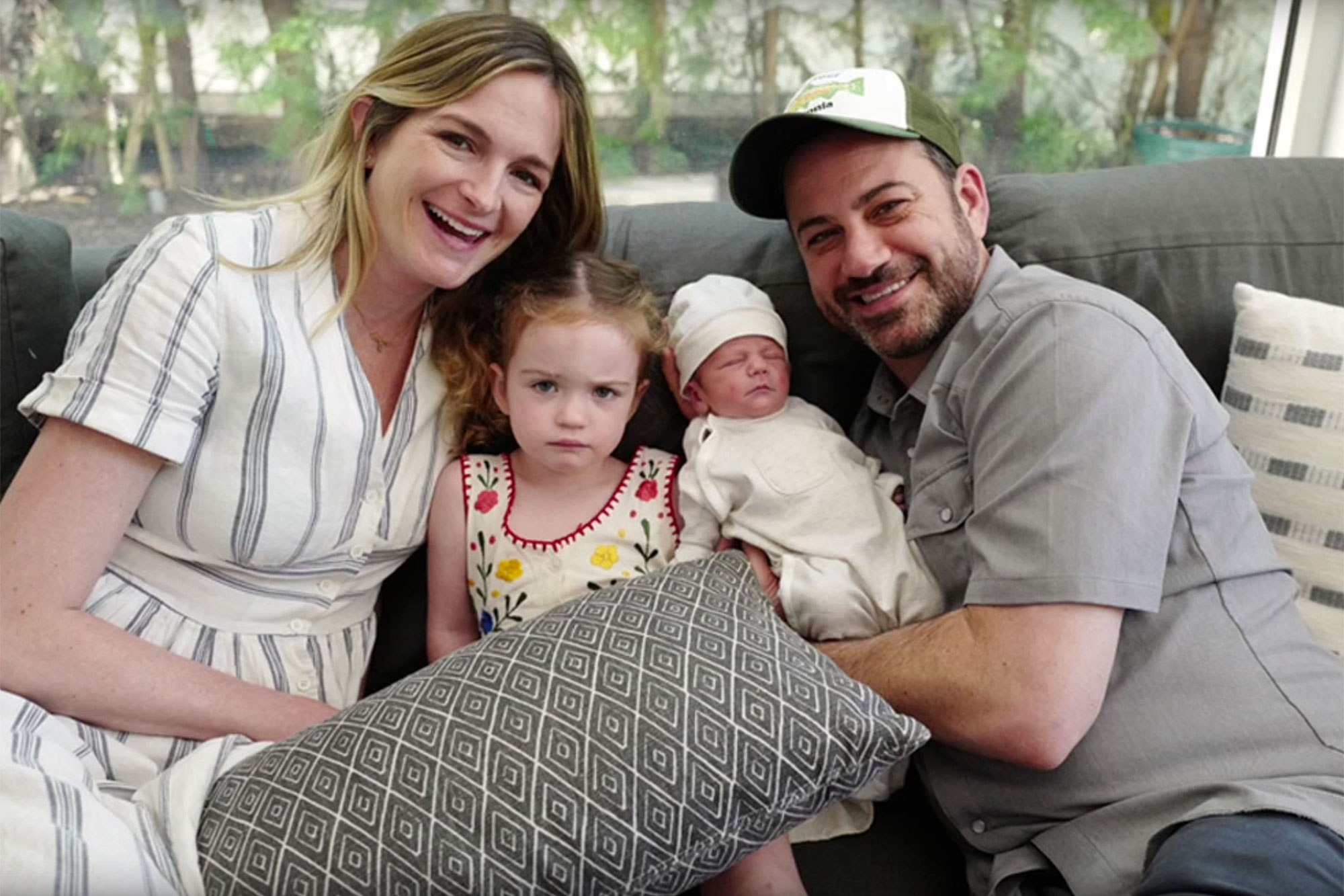 Jimmy Kimmel S Baby Boy Is All Smiles At Age 3 Months And